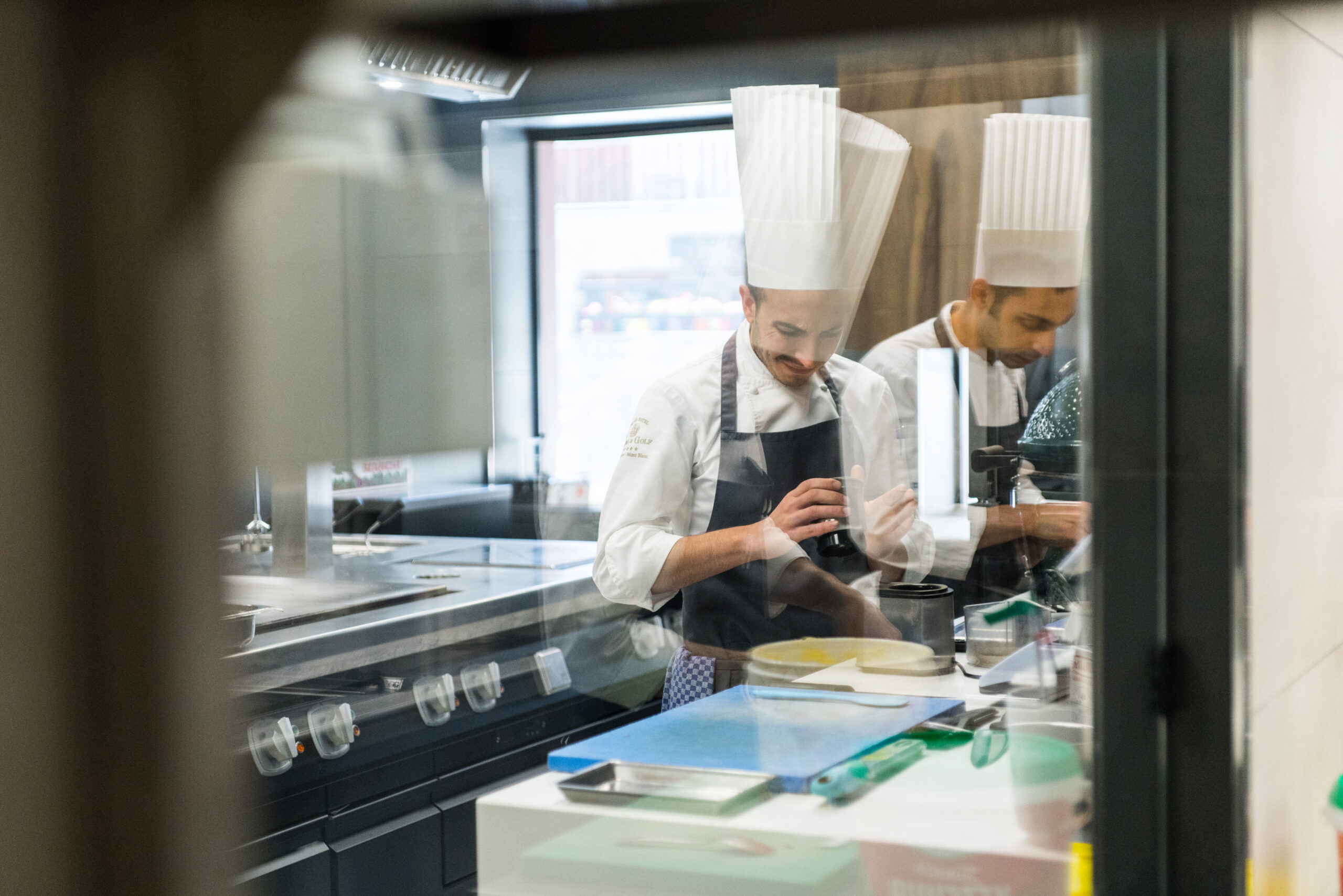 Hotel's Kitchen Workflow, l'organizzazione del flusso di lavoro in un hotel di alto profilo: Grand Hotel Royal & Golf Courmayeur